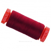Aurifil 50 WT Cotton Mako Spool Thread Red Wine