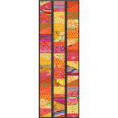 Kaffe Fassett Sliced Charm Table Runner Kit - Citrus