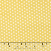 "Cuddle Classic Prints - Swiss Dot Sunshine/Snow 60"" Minky Yardage"