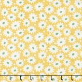 Hi - de - Ho! - Daisies Yellow Yardage