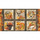 Our Autumn Friends - Harvest  Panel