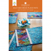 Half-Hexi Braid Place Mats Pattern by Missouri Star