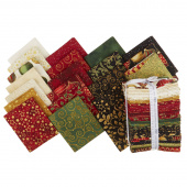 Winter's Grandeur 7 Holiday Metallic Fat Quarter Bundle