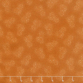 Esther's Heirloom Shirtings - Double Daisies Orange Yardage