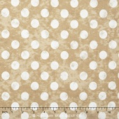 Maven - Large Dots Kraft Yardage