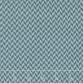 Make Yourself at Home - Herringbone Texture Navy Blue Yardage