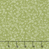 Road Trippin' - Curly Q's Olive Yardage