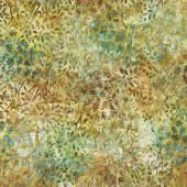 Artisan Batiks - Cornucopia 10 Leaves Grass Yardage