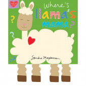 Huggable & Lovable Books - Llama Book Panel