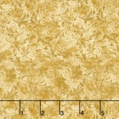 Echo - Tonal Filigree Gold Yardage
