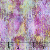 Garden of Dreams - Ogee Leaf Magenta Digitally Printed Yardage