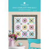 Ohio Starlight Mini Quilt Pattern by Missouri Star
