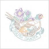 Birds of Liberty - South Dakota Digitally Printed Panel