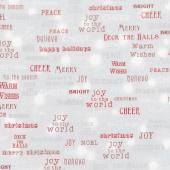 Winter's Grandeur 6 - Winter Words Winter Metallic Yardage