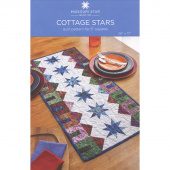 Cottage Stars Table Runner Pattern by Missouri Star