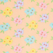 Good Day! - Bunches of Blooms Orange Yardage