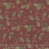 Return to Cub Lake - Oak Leaves Old Red Flannel Yardage