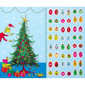 How the Grinch Stole Christmas 8 - Tree Holiday Panel