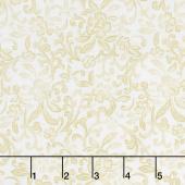 Field of Dreams - Garden Scroll Cream Yardage