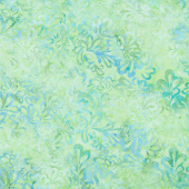 Bliss - Chubby Leaf Mint Yardage