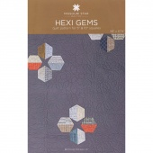Hexi Gems Quilt Pattern by Missouri Star