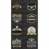 Brew - Coffee Espresso Black Panel