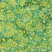 Kismet Batiks - Dragonfly Seaweed Yardage