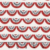 Celebrate America! - Banners Cream Yardage