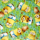 Minions - Egyptian Minions Minion Toss Light Green  Yardage