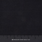 Wilmington Essentials - Midnight Tiny Baskets Black on Black Yardage