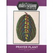 Prayer Plant Pattern by Man Sewing