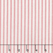 Farmhouse Rose - Stripes Pink Yardage