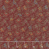 On Meadowlark Pond - Dogwood Red Yardage
