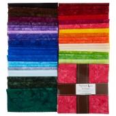 Artisan Batiks Solids - Prisma Dyes Spectrum Palette Ten Squares