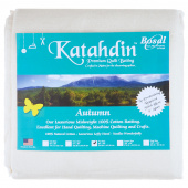 Bosal Katahdin Premium Autumn 100% Cotton Batting Double