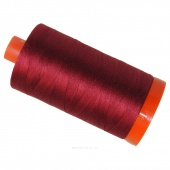Aurifil 50 WT Cotton Mako Large Spool Thread Burgundy