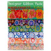 Kaffe Fassett Lotus Designer Ribbon Pack