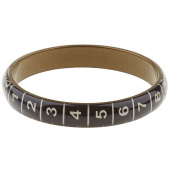 Missouri Star Measuring Tape Bracelet - Thin Black