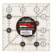 "Creative Grids Quilting Ruler - 3 1/2"" Square"
