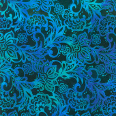Tapestry - Brocade Blue Yardage