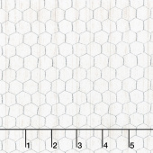 Free Range Fresh - Chicken Wire Cream Yardage