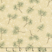 Frosted Flannels - Winter Greens Sand Yardage