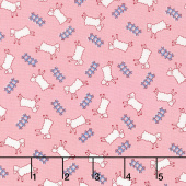 Storybook Sleepytime - Counting Sheep Pink Yardage