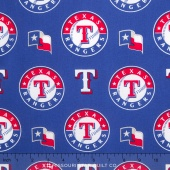 MLB Major League Baseball - Texas Rangers Allover Yardage
