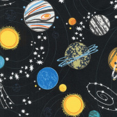 Out of this World - Out of this World Black Yardage