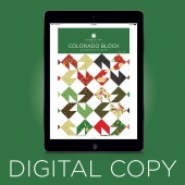 Digital Download - Colorado Block Quilt Pattern by Missouri Star