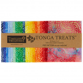 Tonga Treats Batiks - Colorwheel Rainbow Minis