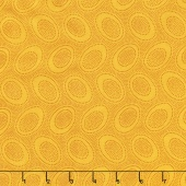 Kaffe Classics - Citrus Aboriginal Dot Gold Yardage