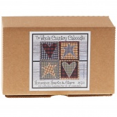 Homespun Hearts & Stars Caboodle Coaster Kit