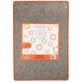 "Missouri Star Wooly Betty Board - 17.25"" x 25.5"" Orange Border"